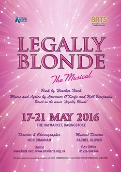 Legally Blonde Poster BATS