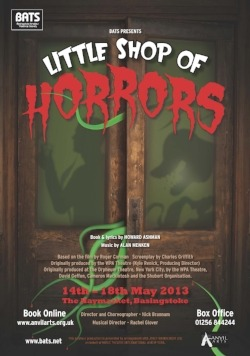 Little Shop Poster BATS
